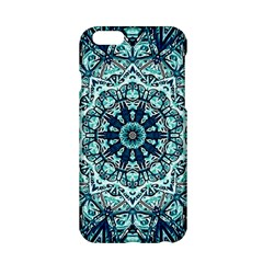 Green Blue Black Mandala  Psychedelic Pattern Apple Iphone 6/6s Hardshell Case by Costasonlineshop