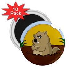 Groundhog Day 2 25  Magnets (10 Pack)  by Valentinaart