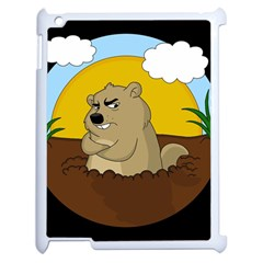 Groundhog Day Apple Ipad 2 Case (white) by Valentinaart