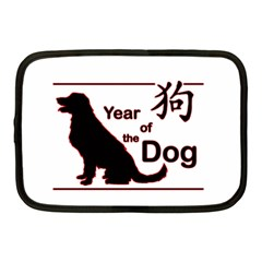 Year Of The Dog   Chinese New Year Netbook Case (medium)  by Valentinaart