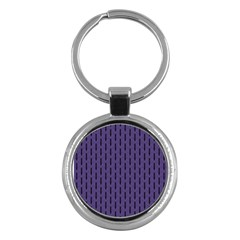 Color Of The Year 2018   Ultraviolet   Art Deco Black Edition Key Chains (round)  by tarastyle