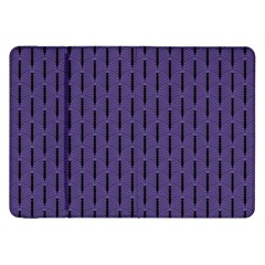 Color Of The Year 2018   Ultraviolet   Art Deco Black Edition Samsung Galaxy Tab 8 9  P7300 Flip Case by tarastyle
