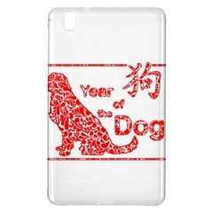 Year Of The Dog   Chinese New Year Samsung Galaxy Tab Pro 8 4 Hardshell Case by Valentinaart