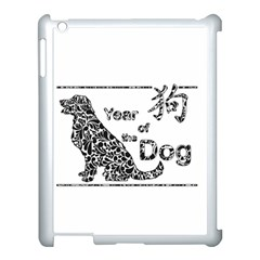 Year Of The Dog   Chinese New Year Apple Ipad 3/4 Case (white) by Valentinaart