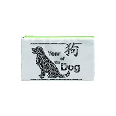 Year Of The Dog   Chinese New Year Cosmetic Bag (xs) by Valentinaart