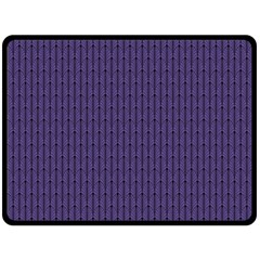 Color Of The Year 2018   Ultraviolet   Art Deco Black Edition Fleece Blanket (large)  by tarastyle