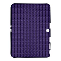 Color Of The Year 2018   Ultraviolet   Art Deco Black Edition Samsung Galaxy Tab 4 (10 1 ) Hardshell Case  by tarastyle