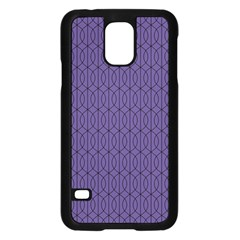 Color Of The Year 2018   Ultraviolet   Art Deco Black Edition 10 Samsung Galaxy S5 Case (black) by tarastyle