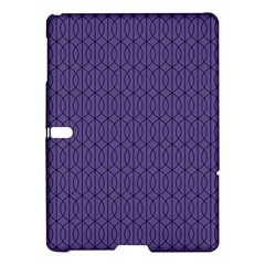 Color Of The Year 2018   Ultraviolet   Art Deco Black Edition 10 Samsung Galaxy Tab S (10 5 ) Hardshell Case