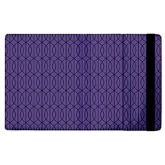 Color Of The Year 2018   Ultraviolet   Art Deco Black Edition 10 Apple Ipad Pro 12 9   Flip Case by tarastyle