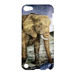 Elephant Apple Ipod Touch 5 Hardshell Case by ArtByThree