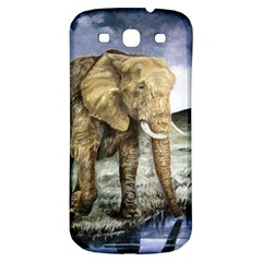 Elephant Samsung Galaxy S3 S Iii Classic Hardshell Back Case by ArtByThree