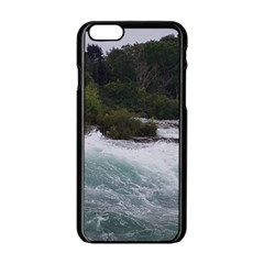 Sightseeing At Niagara Falls Apple Iphone 6/6s Black Enamel Case by canvasngiftshop