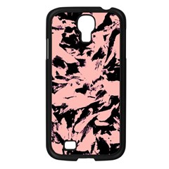 Old Rose Black Abstract Military Camouflage Samsung Galaxy S4 I9500/ I9505 Case (black) by Costasonlineshop