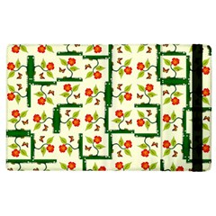 Plants And Flowers Apple Ipad 2 Flip Case by linceazul
