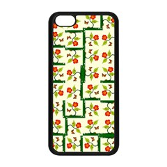 Plants And Flowers Apple Iphone 5c Seamless Case (black) by linceazul