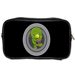 Zombie Pictured Illustration Toiletries Bags 2 Side by Onesevenart