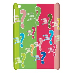 Question Mark Problems Clouds Apple Ipad Mini Hardshell Case by Onesevenart