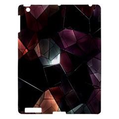 Crystals Background Design Luxury Apple Ipad 3/4 Hardshell Case by Onesevenart