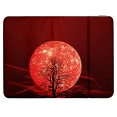 The Background Red Moon Wallpaper Samsung Galaxy Tab 7  P1000 Flip Case by Onesevenart