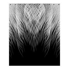 Feather Graphic Design Background Shower Curtain 60  X 72  (medium)  by Onesevenart