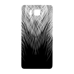 Feather Graphic Design Background Samsung Galaxy Alpha Hardshell Back Case