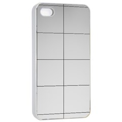 Abstract Architecture Contemporary Apple Iphone 4/4s Seamless Case (white)