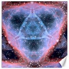 Sacred Geometry Mandelbrot Fractal Canvas 20  X 20   by Onesevenart