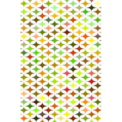 Background Multicolored Star 5 5  X 8 5  Notebooks by Onesevenart