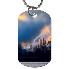 Warming Global Environment Nature Dog Tag (two Sides) by Onesevenart