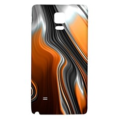 Fractal Structure Mathematics Galaxy Note 4 Back Case by Onesevenart