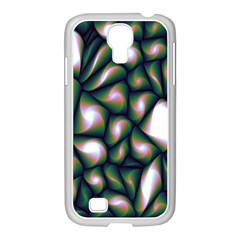 Fuzzy Abstract Art Urban Fragments Samsung Galaxy S4 I9500/ I9505 Case (white) by Onesevenart