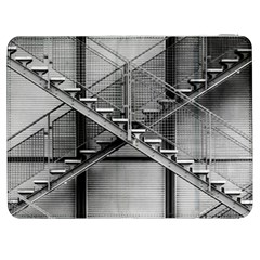 Architecture Stairs Steel Abstract Samsung Galaxy Tab 7  P1000 Flip Case by Onesevenart