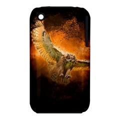 Art Creative Graphic Arts Owl Iphone 3s/3gs