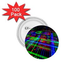 Electronics Board Computer Trace 1 75  Buttons (100 Pack)  by Onesevenart