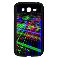 Electronics Board Computer Trace Samsung Galaxy Grand Duos I9082 Case (black) by Onesevenart