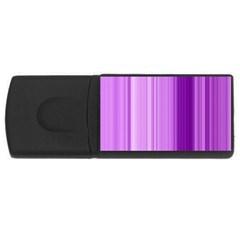Background Texture Pattern Purple Rectangular Usb Flash Drive by Onesevenart