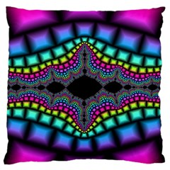 Fractal Art Artwork Digital Art Standard Flano Cushion Case (one Side) by Onesevenart