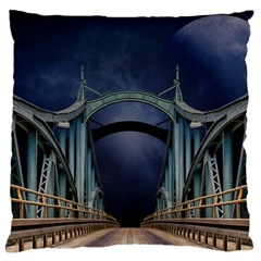 Bridge Mars Space Planet Standard Flano Cushion Case (one Side) by Onesevenart