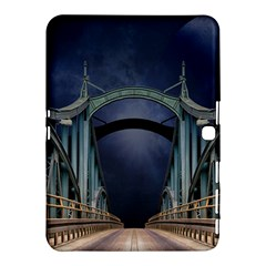 Bridge Mars Space Planet Samsung Galaxy Tab 4 (10 1 ) Hardshell Case  by Onesevenart