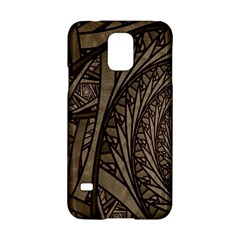 Abstract Pattern Graphics Samsung Galaxy S5 Hardshell Case  by Onesevenart