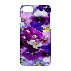 Graphic Background Pansy Easter Apple Iphone 7 Hardshell Case by Onesevenart