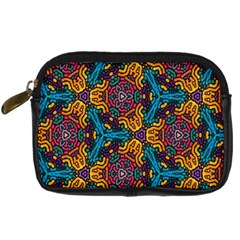 Grubby Colors Kaleidoscope Pattern Digital Camera Cases by Onesevenart