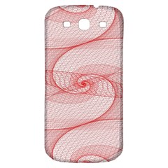 Red Pattern Abstract Background Samsung Galaxy S3 S Iii Classic Hardshell Back Case by Onesevenart