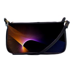 Star Graphic Rays Movement Pattern Shoulder Clutch Bags by Onesevenart