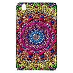 Background Fractals Surreal Design Samsung Galaxy Tab Pro 8 4 Hardshell Case by Onesevenart