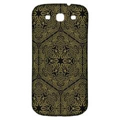 Texture Background Mandala Samsung Galaxy S3 S Iii Classic Hardshell Back Case by Onesevenart