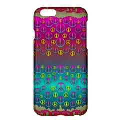 Years Of Peace Living In A Paradise Of Calm And Colors Apple Iphone 6 Plus/6s Plus Hardshell Case by pepitasart