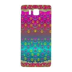 Years Of Peace Living In A Paradise Of Calm And Colors Samsung Galaxy Alpha Hardshell Back Case by pepitasart