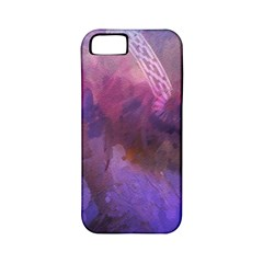 Ultra Violet Dream Girl Apple Iphone 5 Classic Hardshell Case (pc+silicone) by 8fugoso